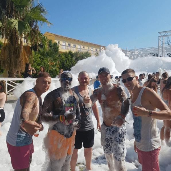 Atlantis Foam Party