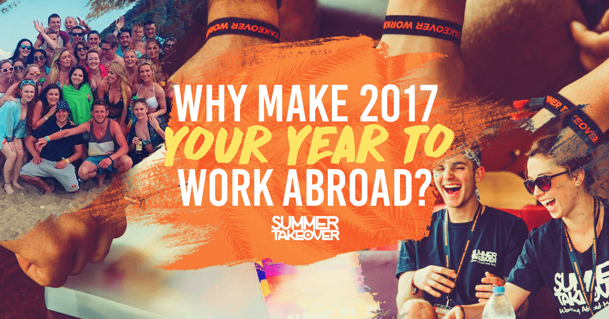 Why Make 2018 Your Year to Work Abroad…